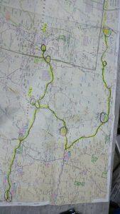 """מסלול מקאנמאלה לברדצוויל- 1500 ק""""מ"""