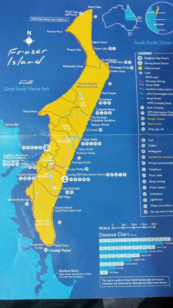 מפת האי פרייזר