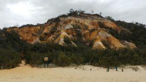 The Pinnacles -תצורות חול צבעוניות